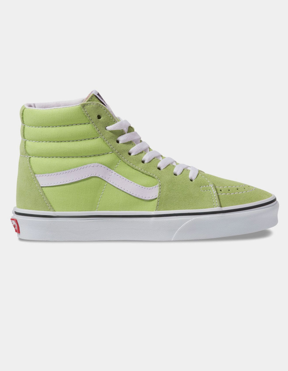 VANS Sk8-Hi Sharp Green & True White Shoes