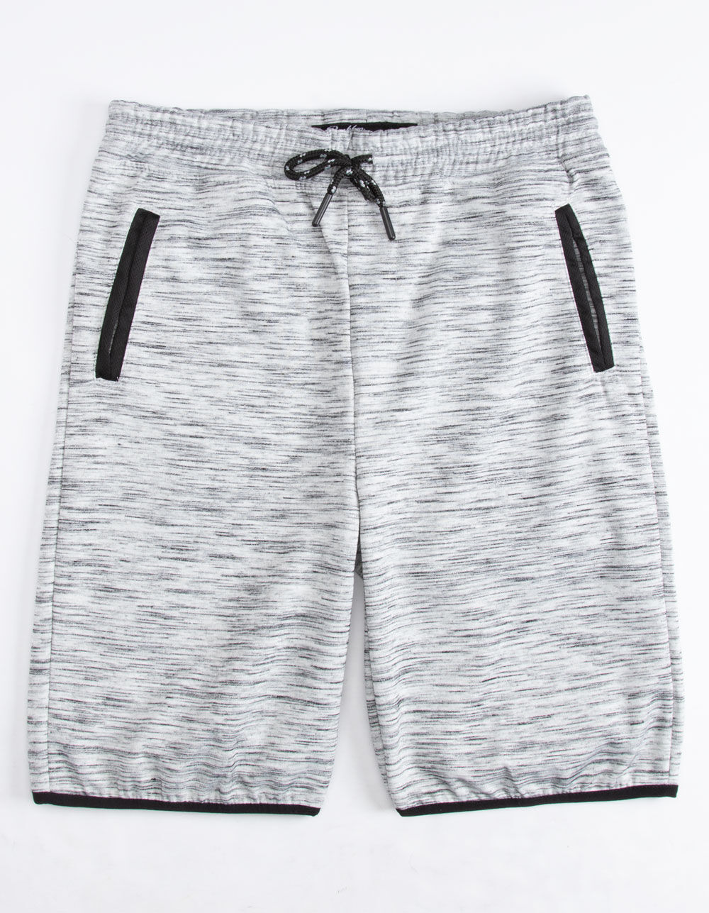 Image of BROOKLYN CLOTH GRAY BOYS SWEAT SHORTS