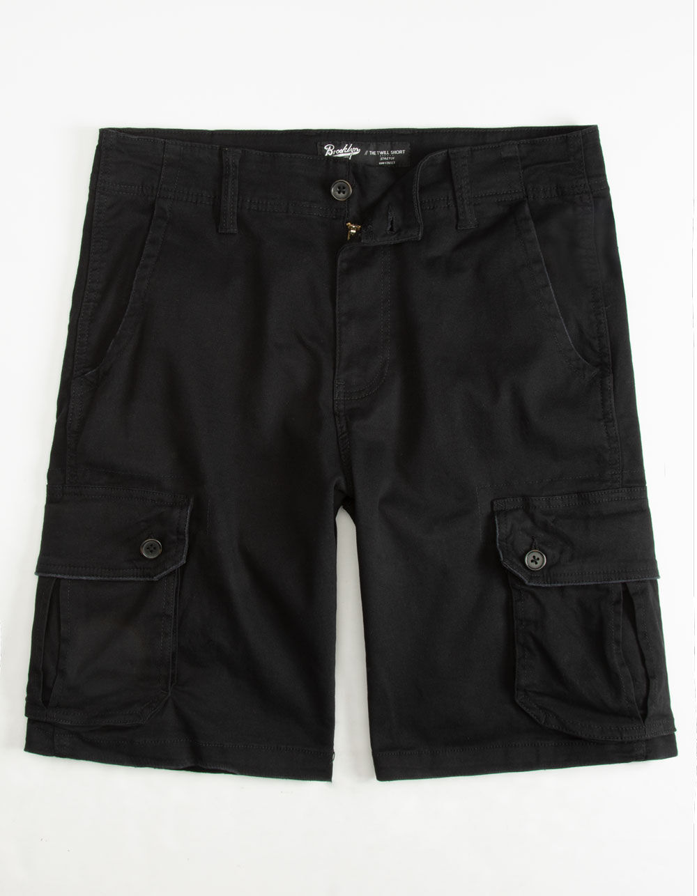 Image of BROOKLYN CLOTH BLACK CARGO SHORTS