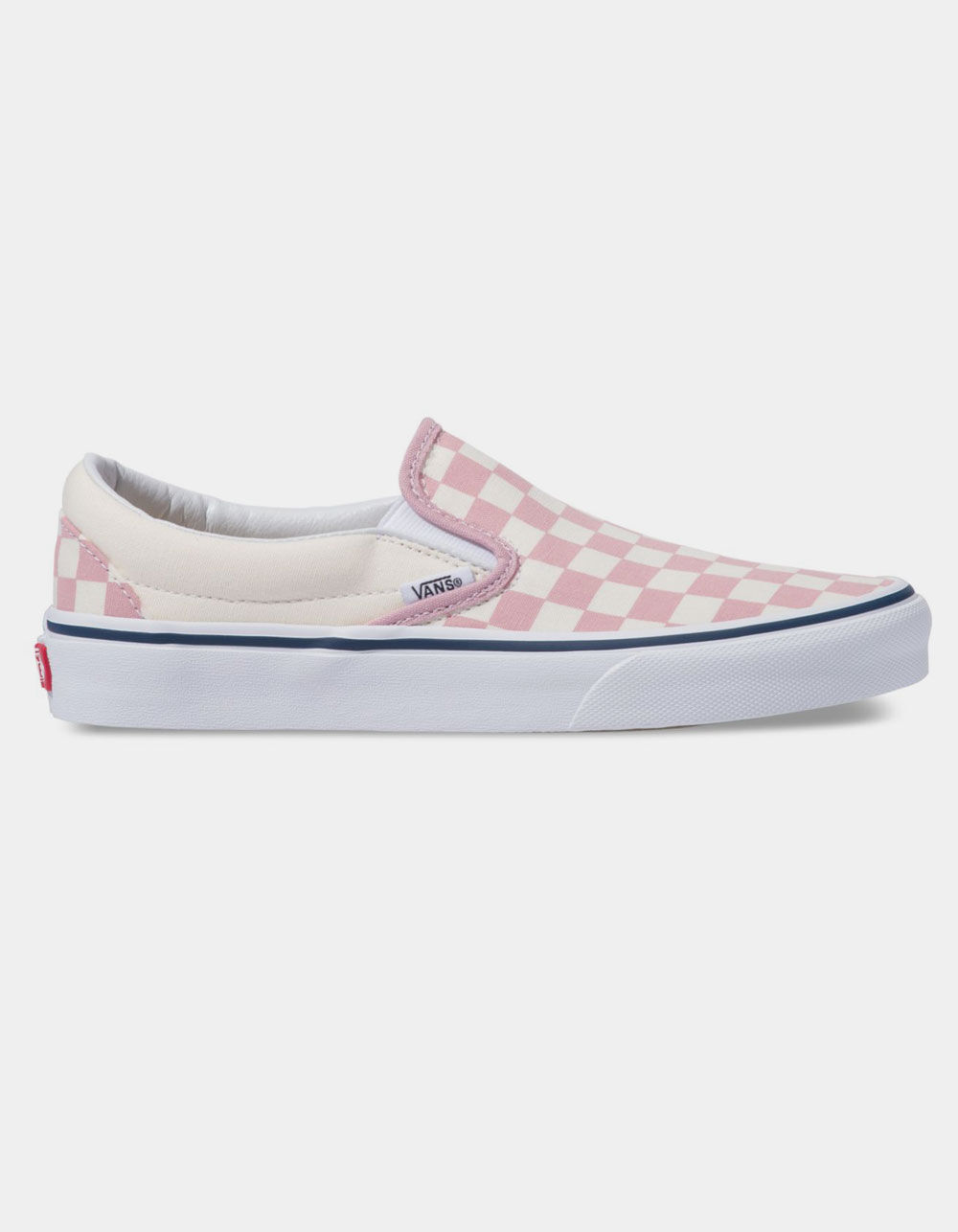 VANS Checkerboard Classic Slip-On Zephyr Pink Shoes