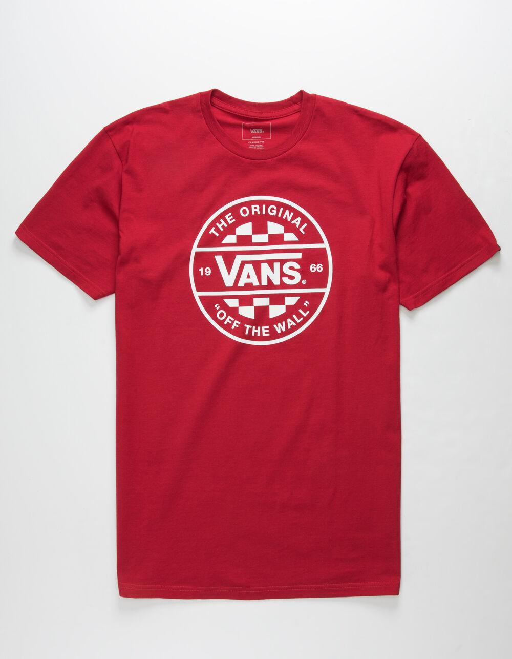 VANS Checker Co. II Cardinal T-Shirt