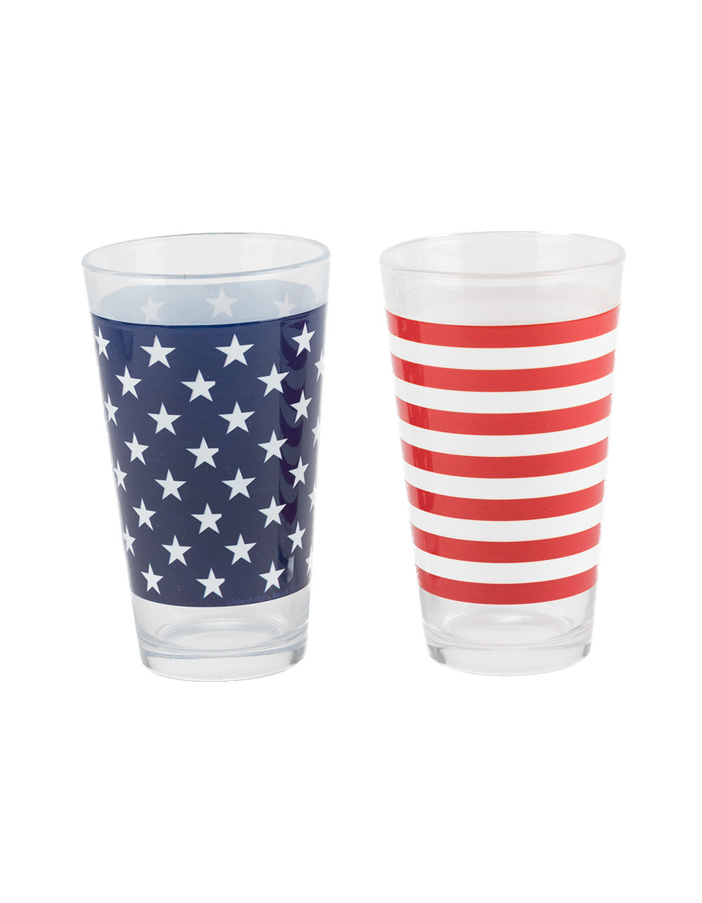 Image of 2 PACK AMERICANA PINT GLASSES