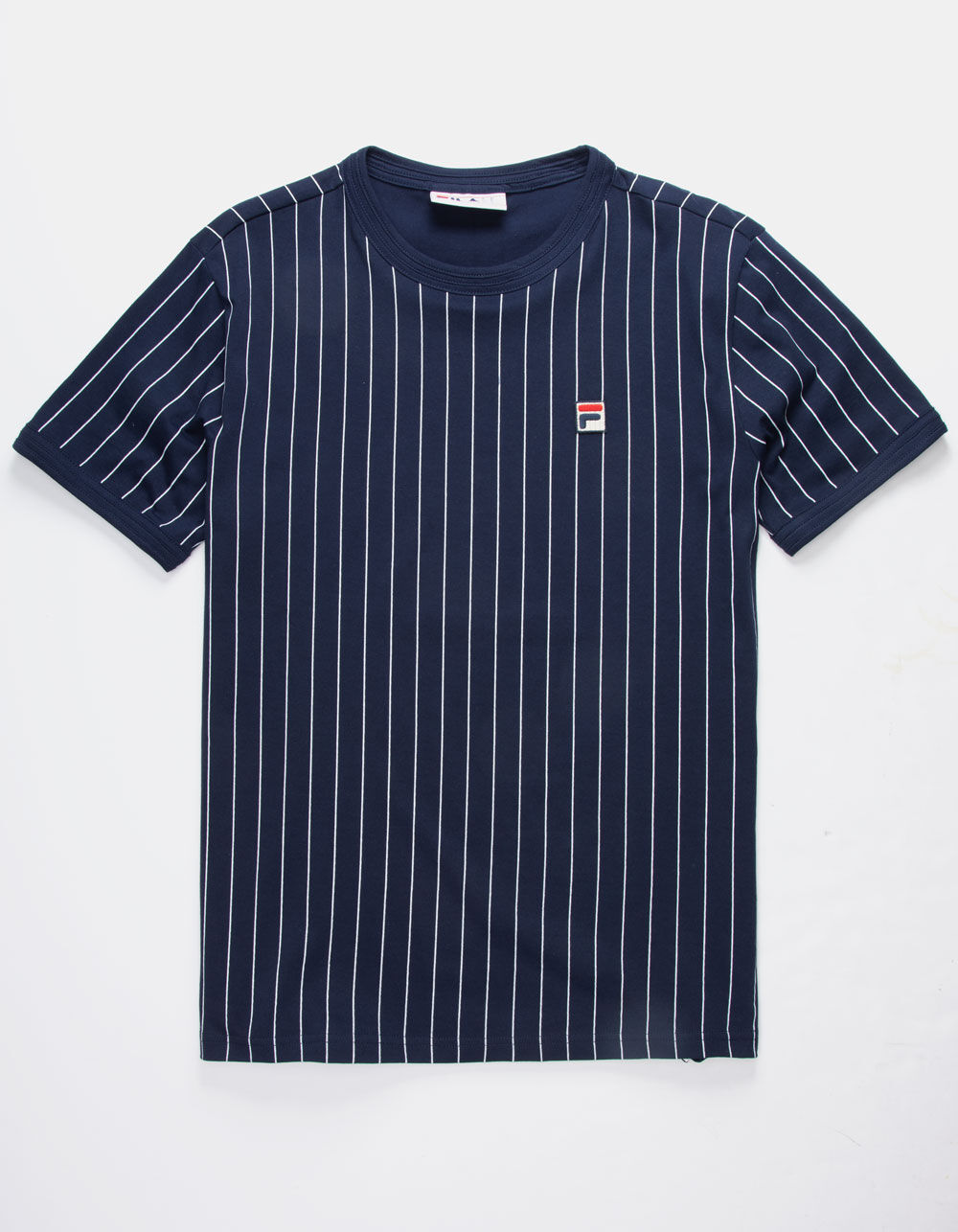 FILA Guilo Navy Stripe T-Shirt
