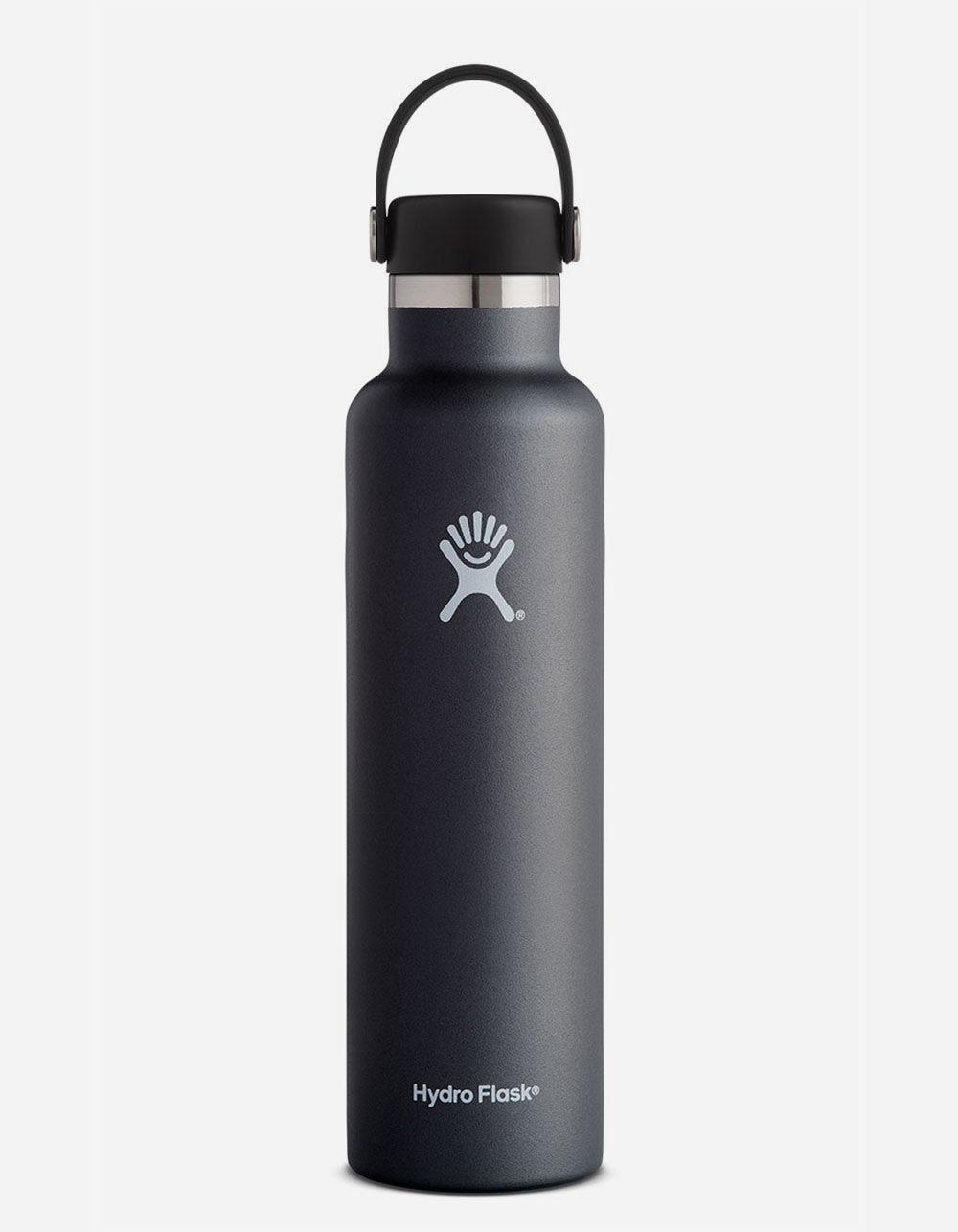 HYDRO FLASK Black 24oz Standard Mouth Water Bottle