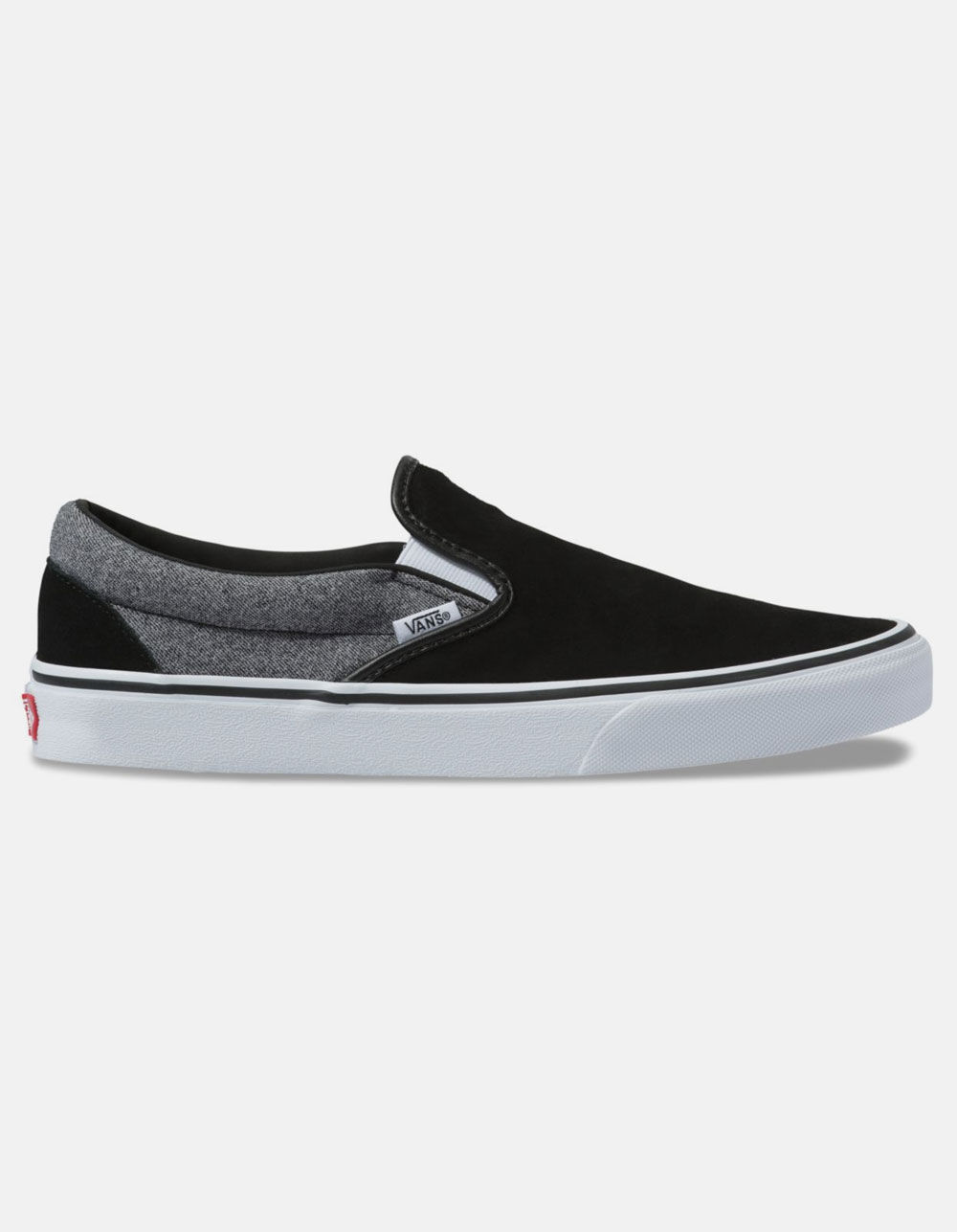 VANS Suede Classic Slip-On Suiting & Black Shoes