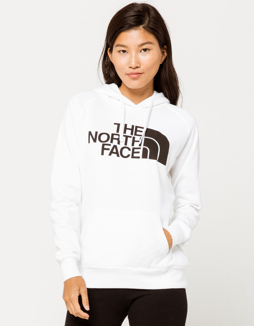THE NORTH FACE Half Dome White Hoodie