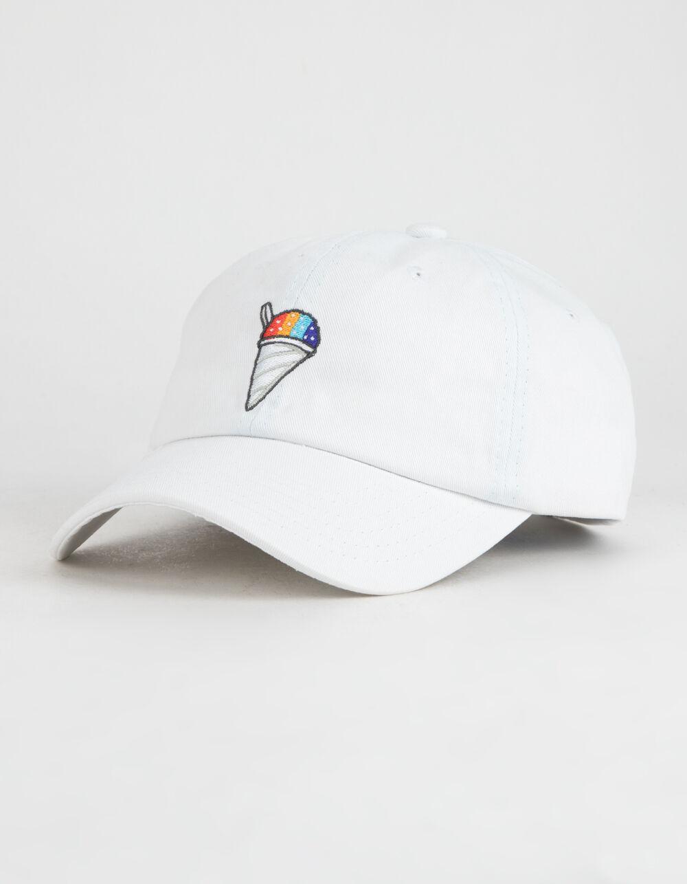 Image of DGK ICEY WHITE STRAPBACK HAT