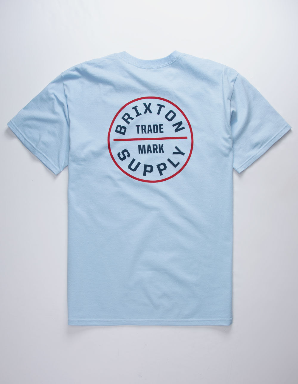 BRIXTON Oath Light Blue T-Shirt