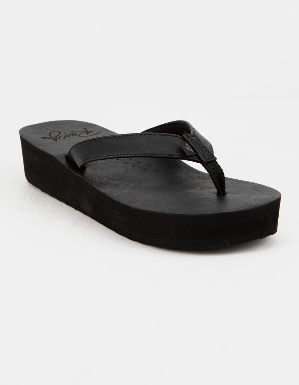 ROXY Melinda Black Platform Sandals