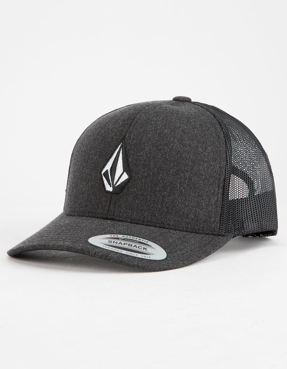 VOLCOM Full Stone Cheese Gray Trucker Hat