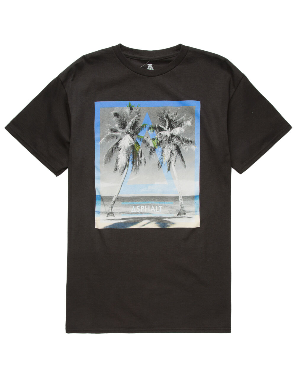 Image of ASPHALT PALM ISLAND T-SHIRT