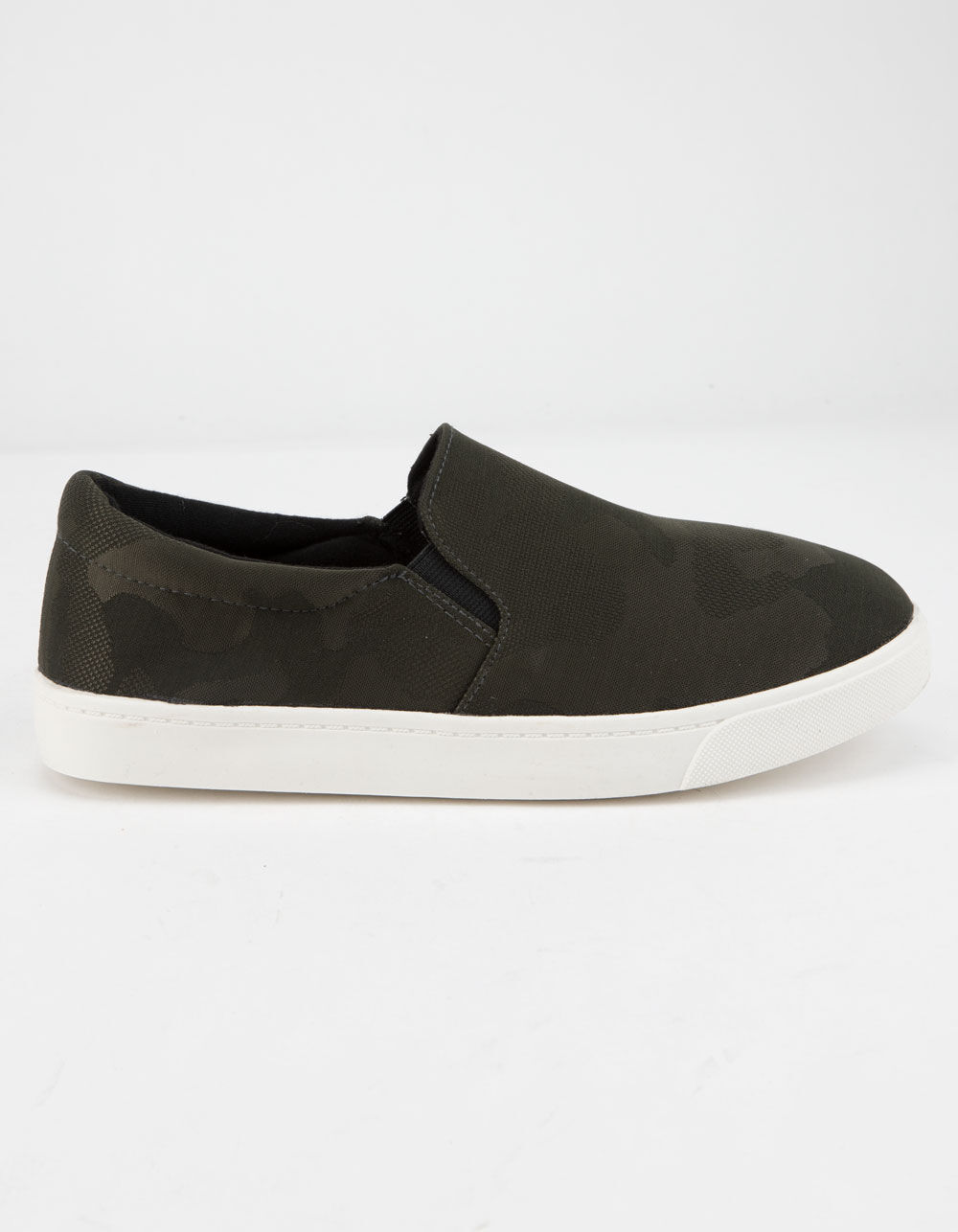 SODA Reign Camo Slip-On Shoes