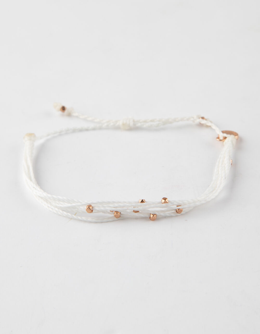 PURA VIDA Malibu Rose Gold & White Bracelet