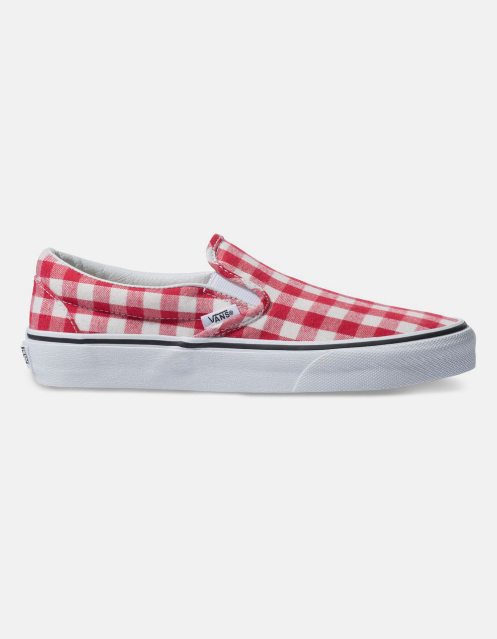 VANS GINGHAM CLASSIC SLIP-ON SHOES