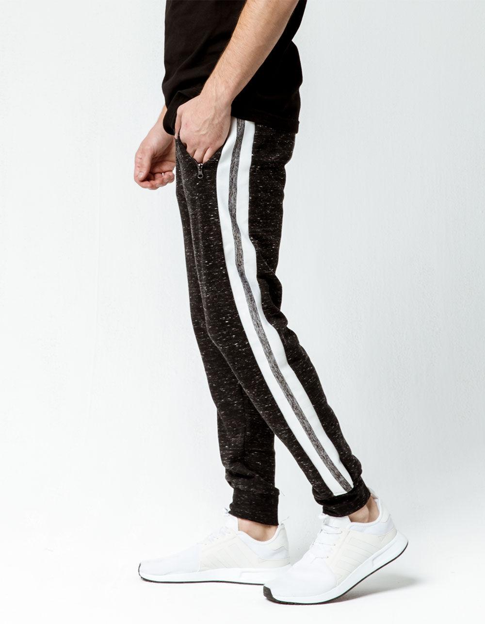 Image of BROOKLYN CLOTH SIDE STRIPE JOGGER PANTS