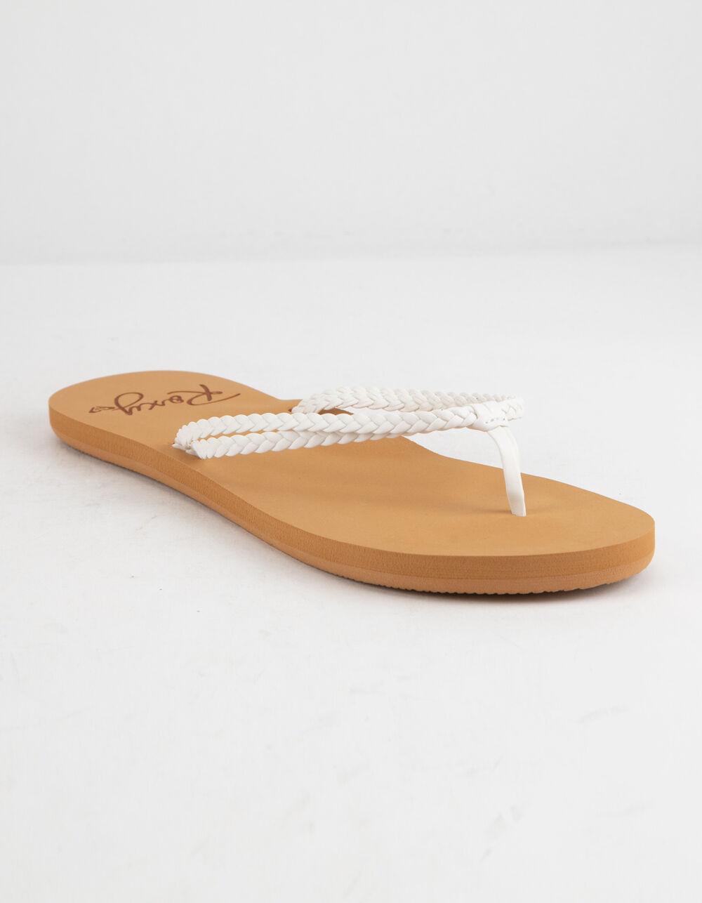 ROXY Costas White Sandals