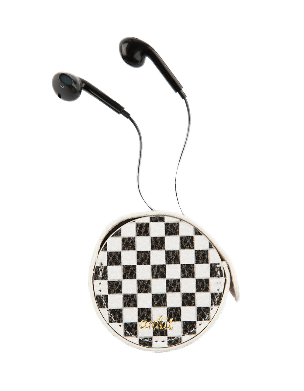 Image of ANKIT CHECKERED EARBUDS & CARRYING CASE