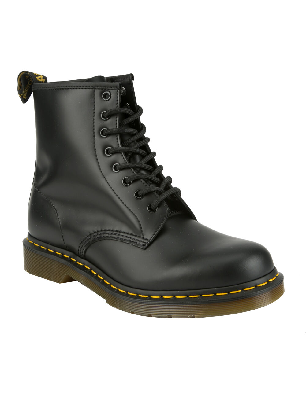 Image of DR. MARTENS 1460 BLACK SMOOTH BOOTS