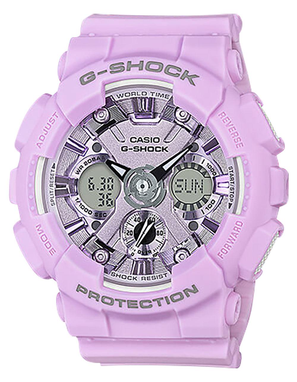 G-SHOCK GMAS120DP Lavender Watch