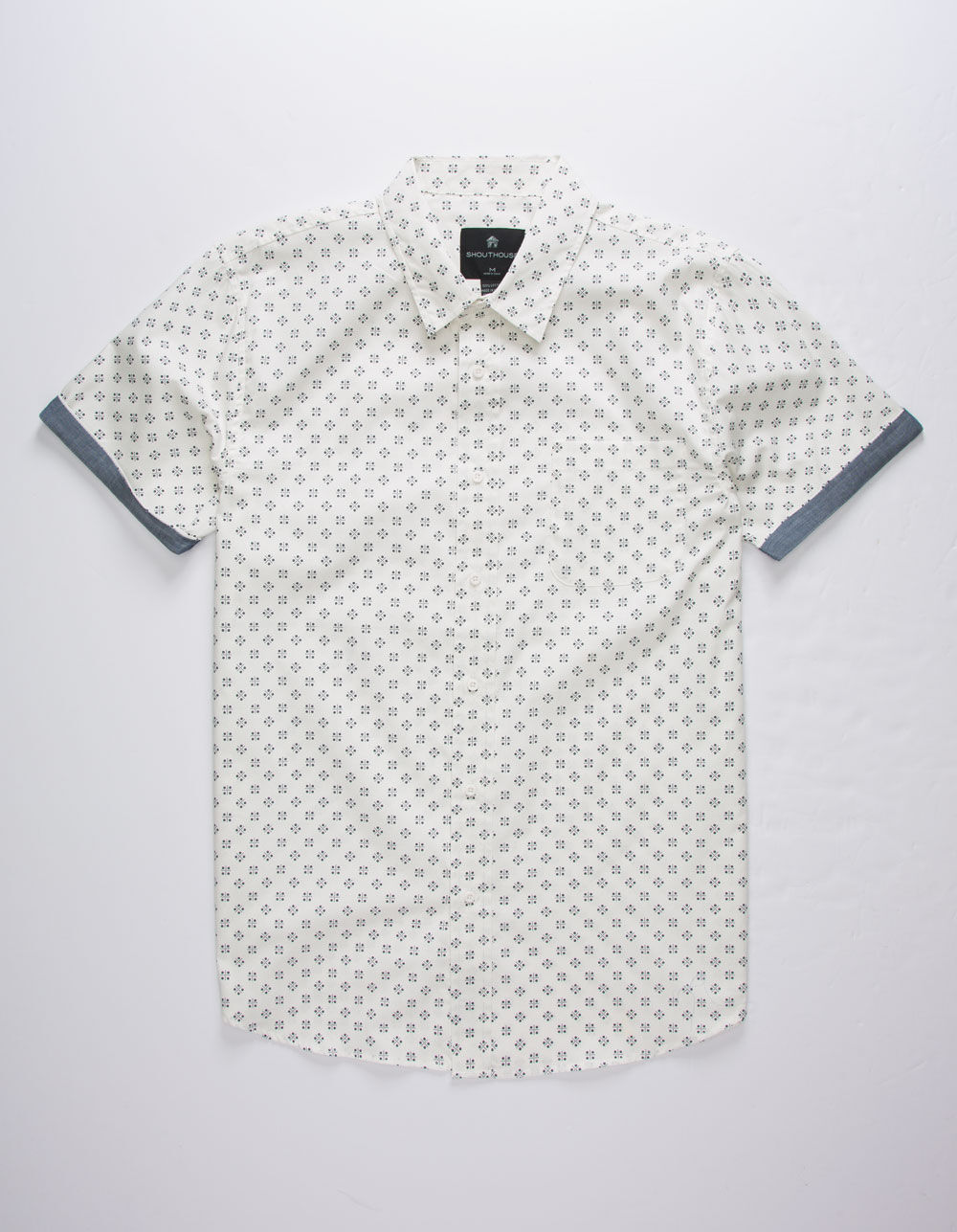 SHOUTHOUSE La Brea White Shirt