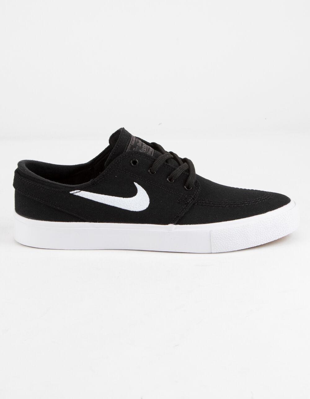 NIKE SB Zoom Janoski Canvas RM Black & White Shoes