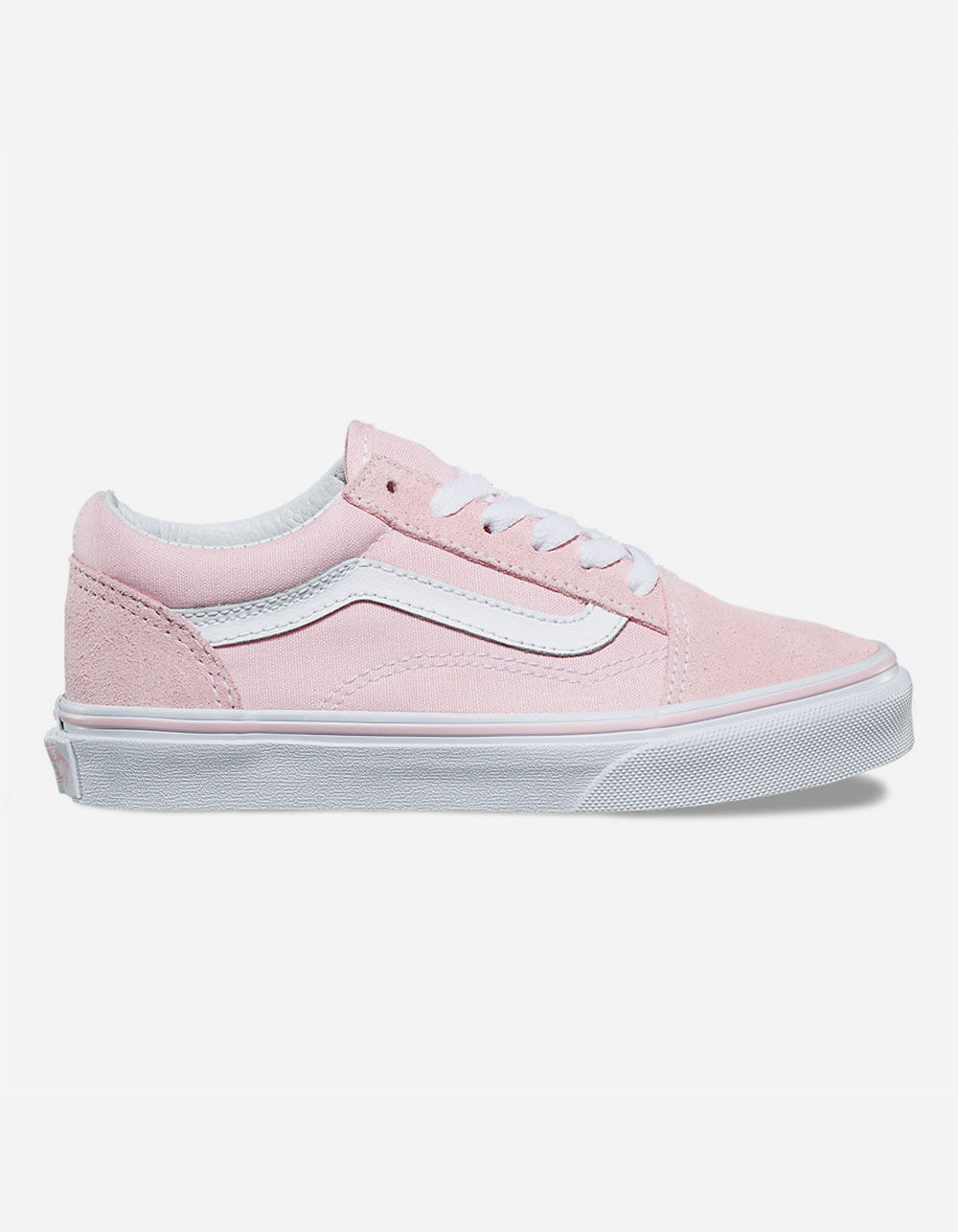 VANS SUEDE & CANVAS OLD SKOOL GIRLS SHOES