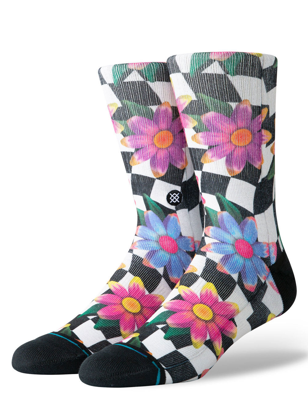 STANCE Flower Rave Crew Socks
