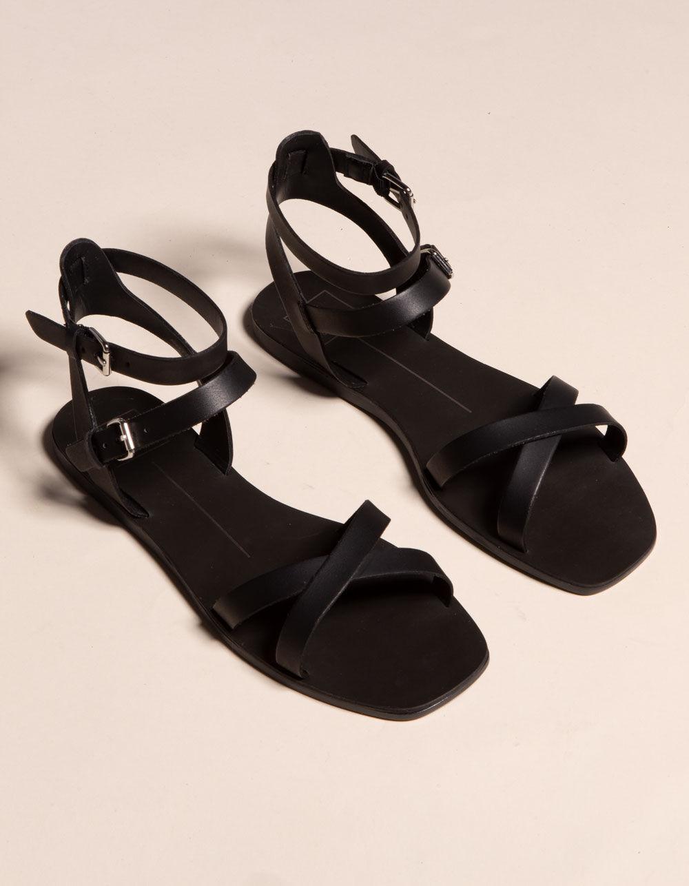 DOLCE VITA Canta Black Sandals