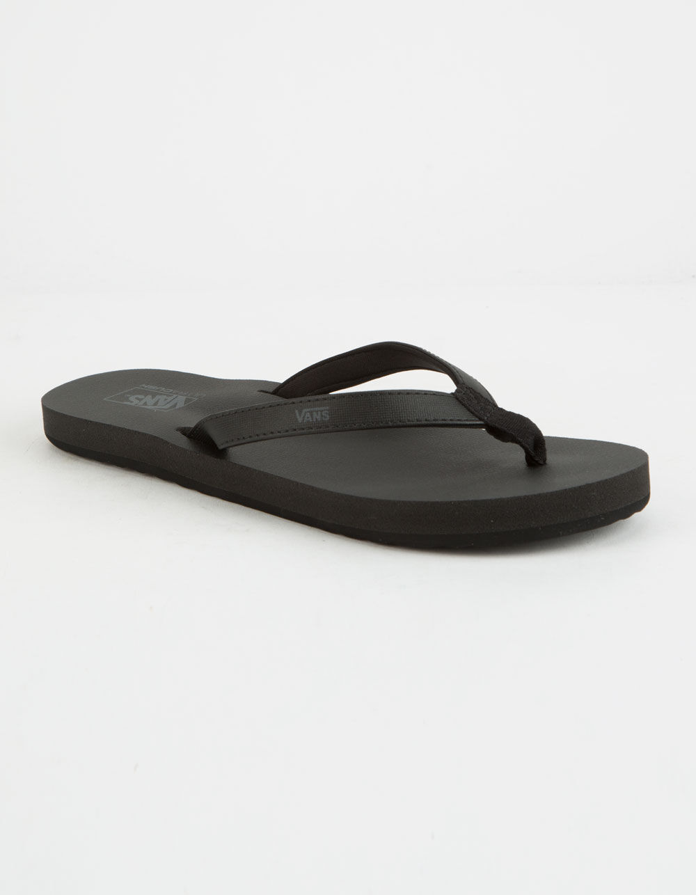 VANS Soft-Top Black Sandals