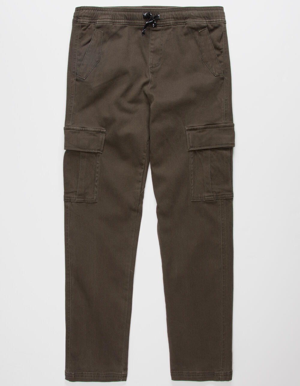 Image of CHARLES AND A HALF CARGO OLIVE BOYS JOGGER PANTS
