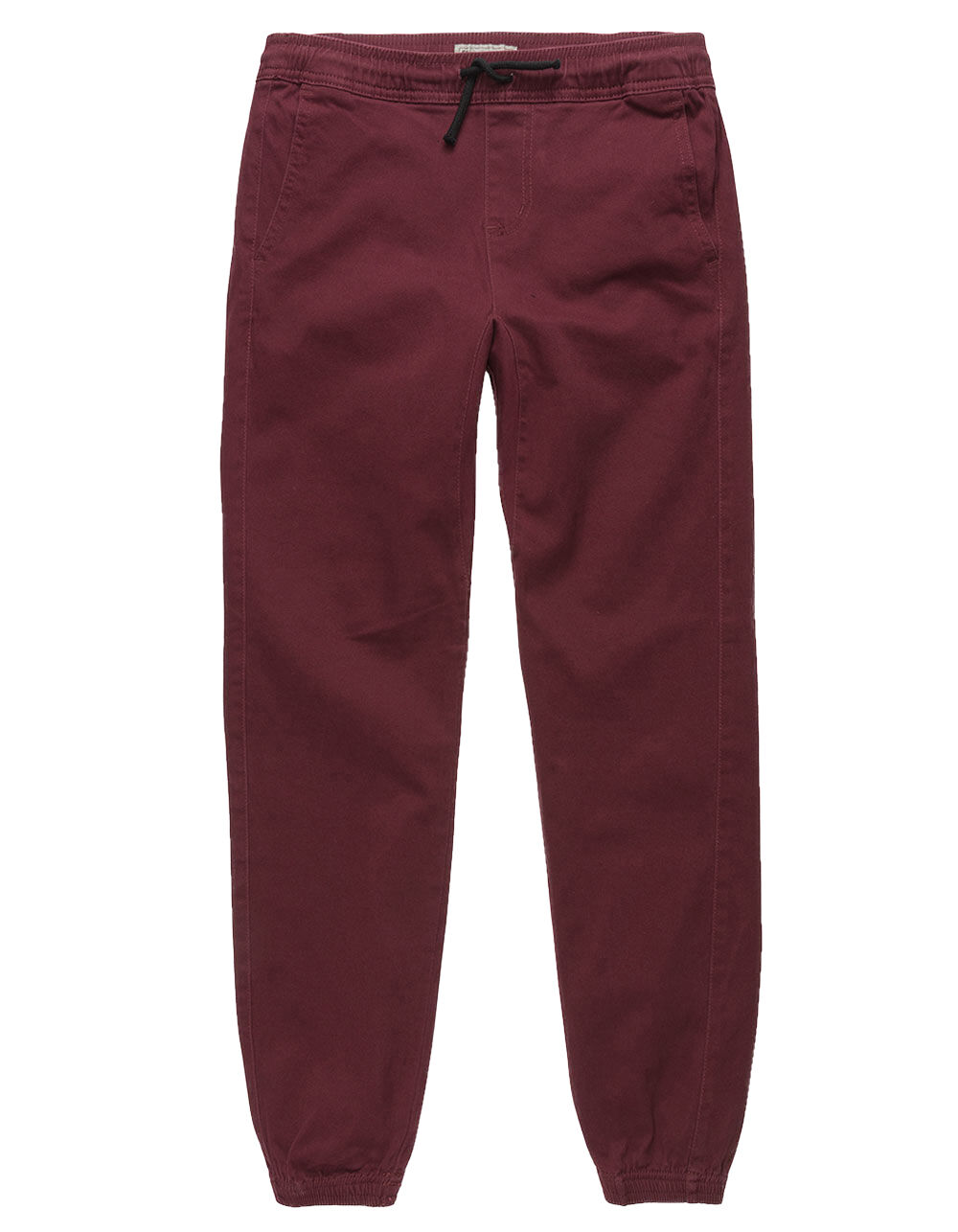 Image of CHARLES AND A HALF CABERNET BOYS TWILL JOGGER PANTS