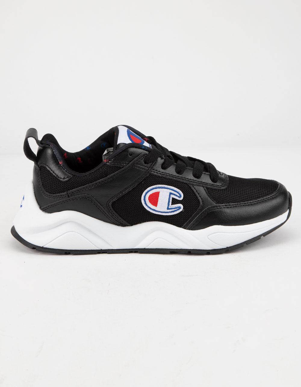 CHAMPION 93Eighteen Classic Black & White Shoes