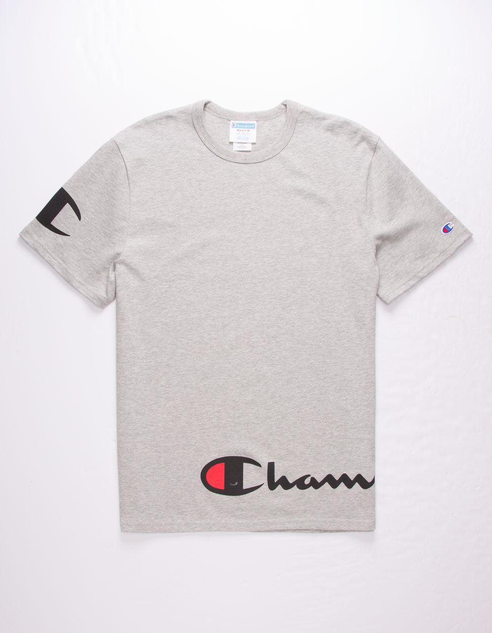 CHAMPION Wrap Script T-Shirt