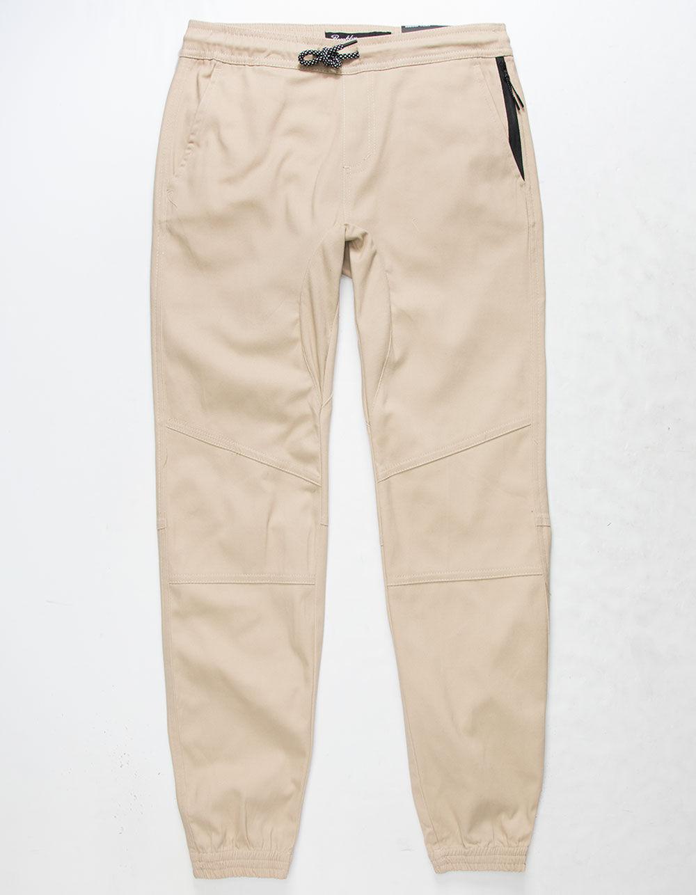 Image of BROOKLYN CLOTH TWILL ZIP POCKET BOYS JOGGER PANTS
