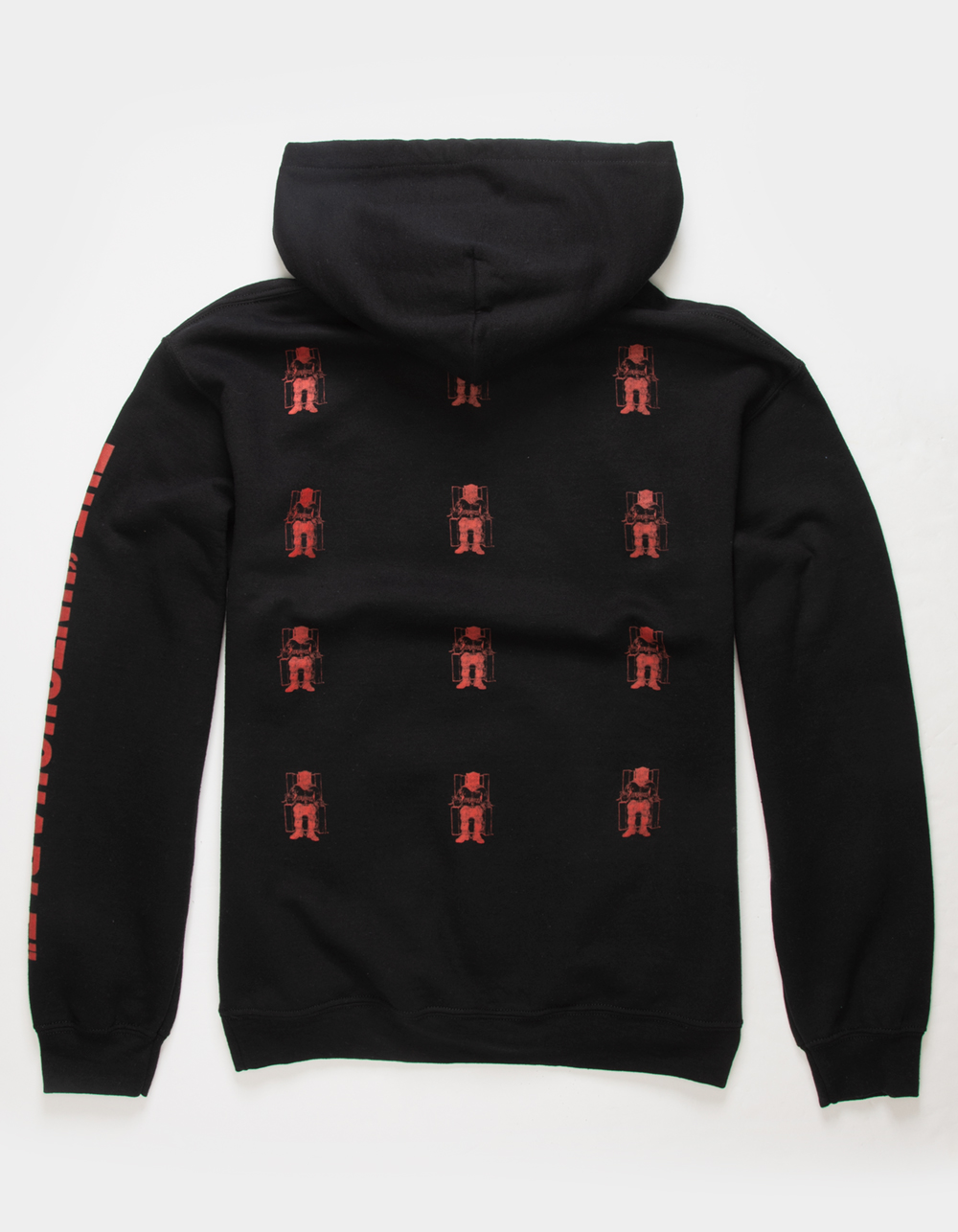 Image of DEATH ROW RECORDS LOGO HOODIE