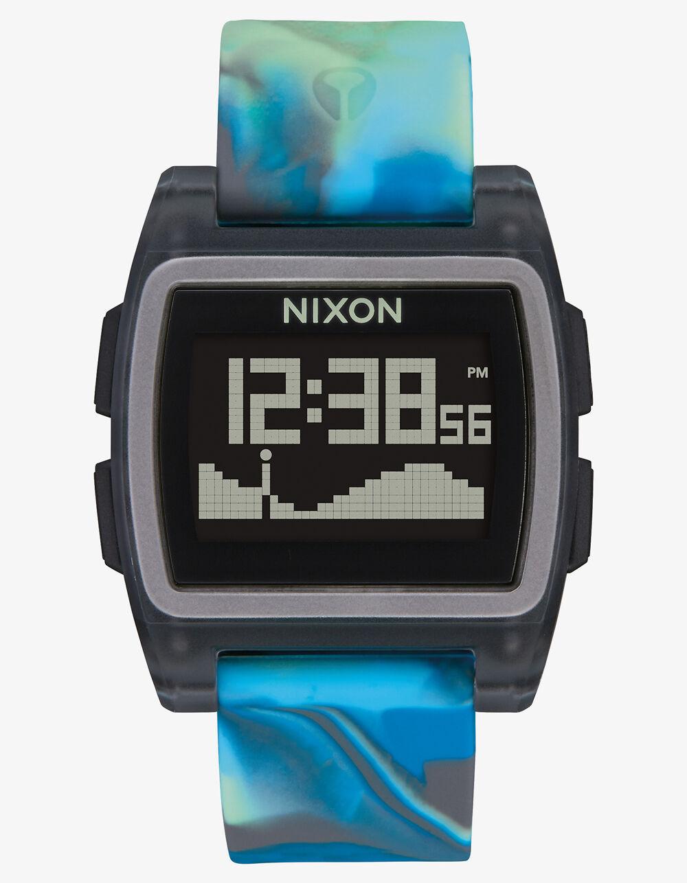 NIXON Base Tide Blue Jellyfish Watch