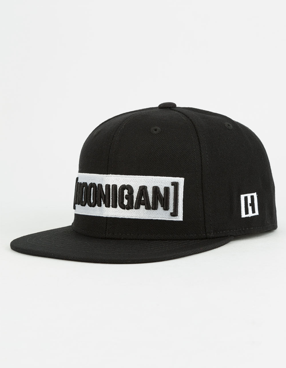 HOONIGAN Censor Bar Black Snapback Hat