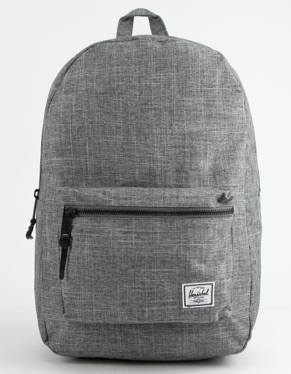 HERSCHEL SUPPLY CO. Settlement Raven Crosshatch Backpack