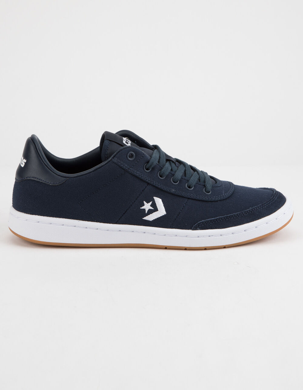 Image of CONVERSE BARCELONA PRO LOW TOP OBSIDIAN & WHITE SHOES