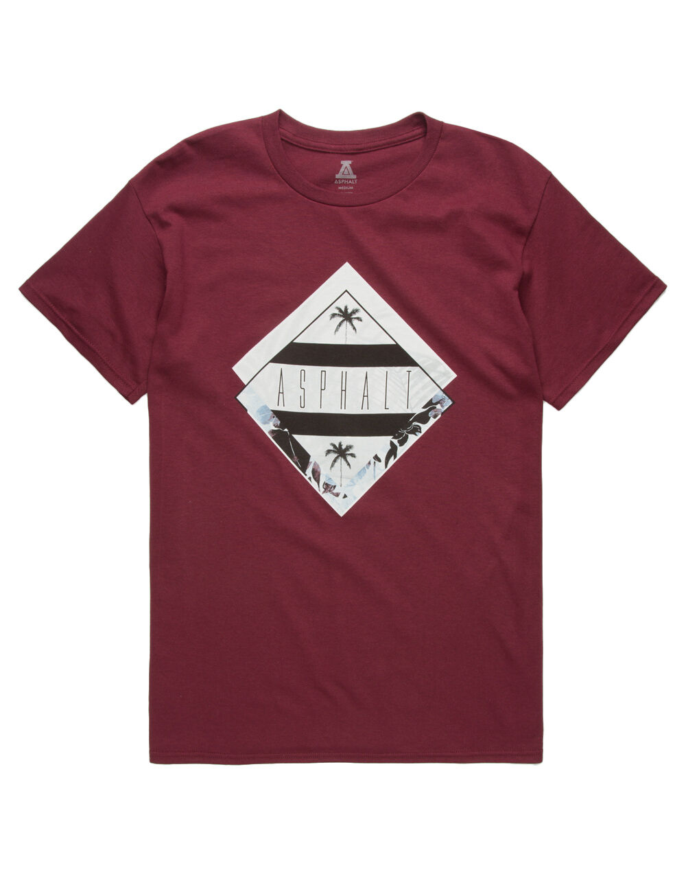 Image of ASPHALT CRISP DIAMOND T-SHIRT
