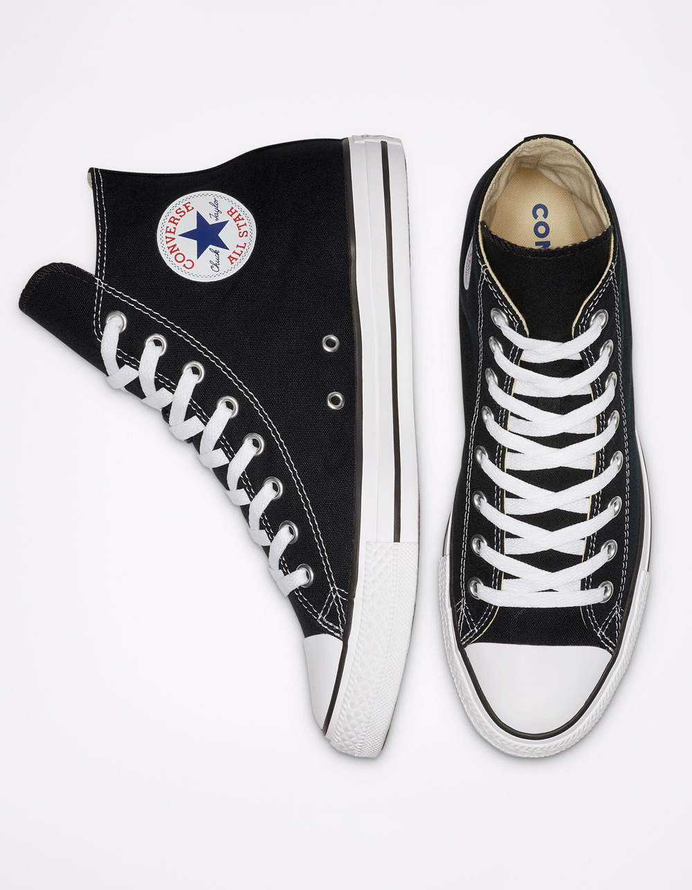 Image of CONVERSE CHUCK TAYLOR ALL STAR BLACK HIGH TOP SHOES