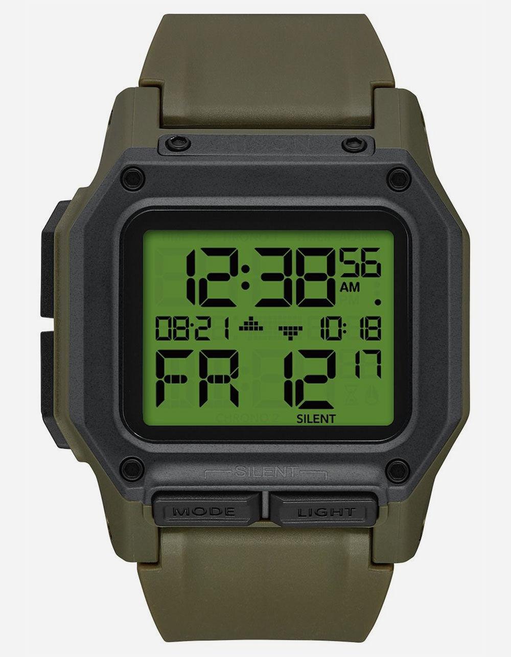NIXON Regulus Olive Watch