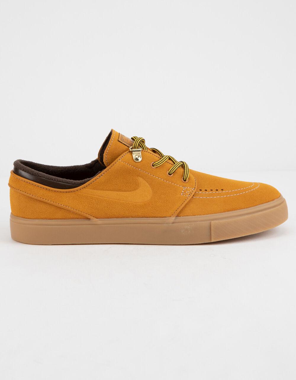 cheap for discount 15521 f5874 NIKE SB Zoom Janoski Premium Bronze Gum Light Brown Shoes (33187046501)  photo
