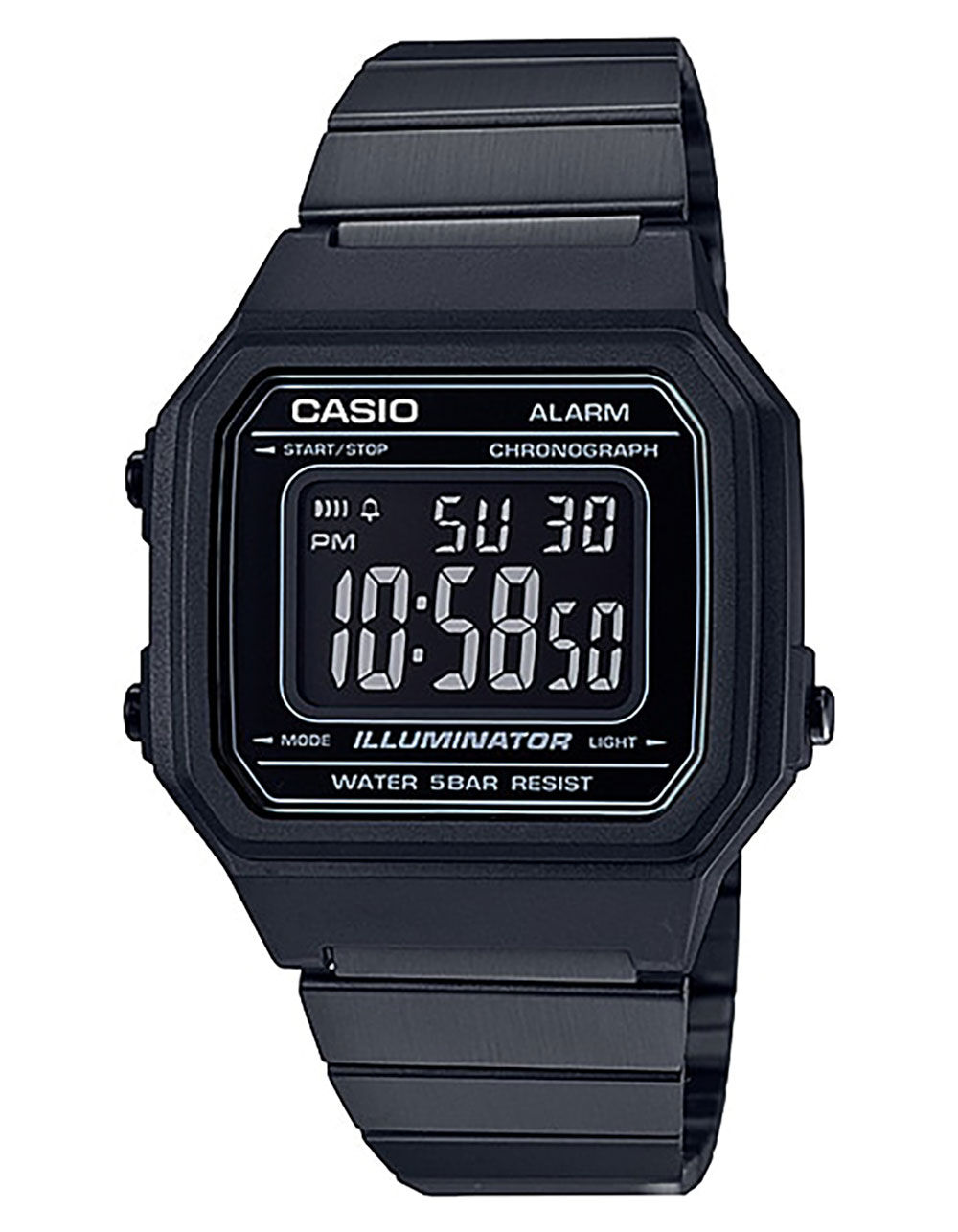 Image of CASIO VINTAGE COLLECTION 650WB-1B WATCH