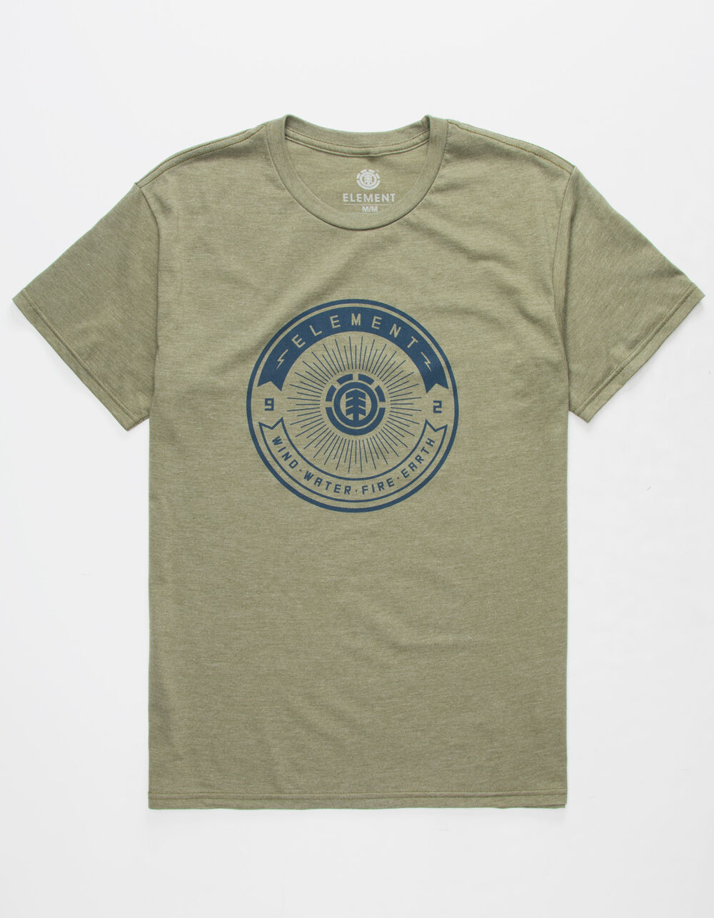 ELEMENT Beams Heather Olive T-Shirt