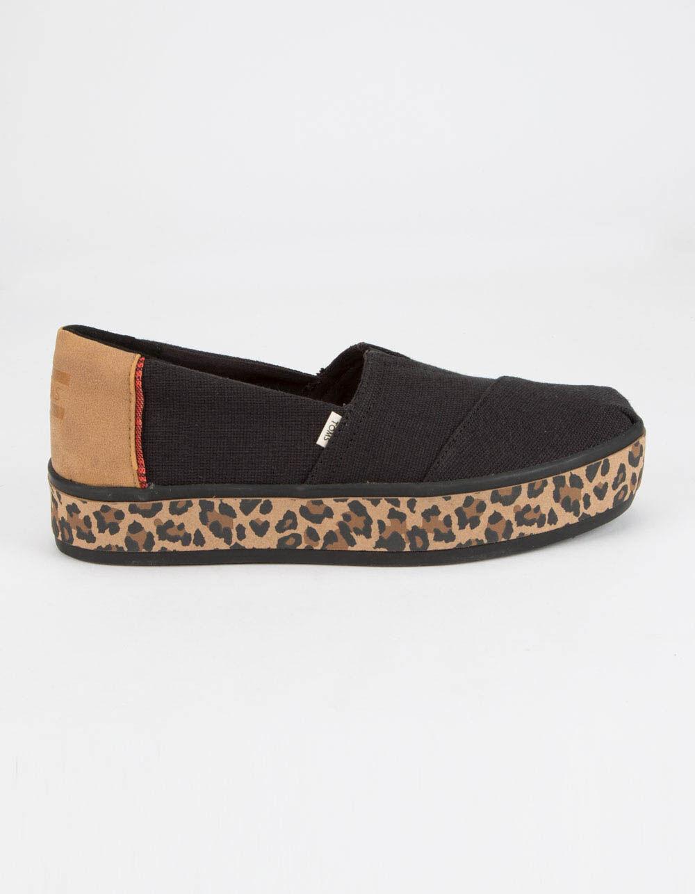 TOMS Alpargata Boardwalk Platform Slip-On Shoes