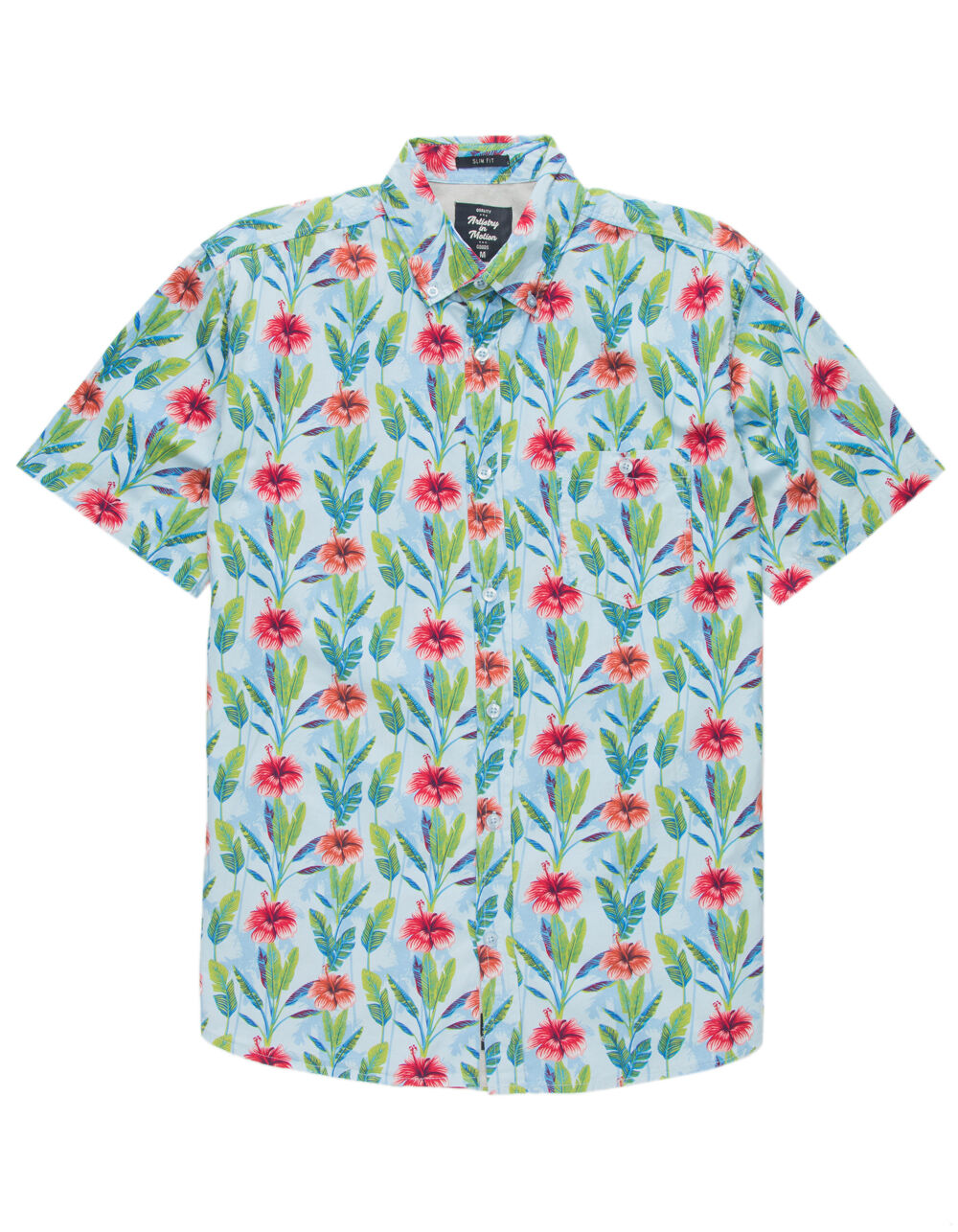 Image of ARTISTRY IN MOTION PARADISE SHIRT