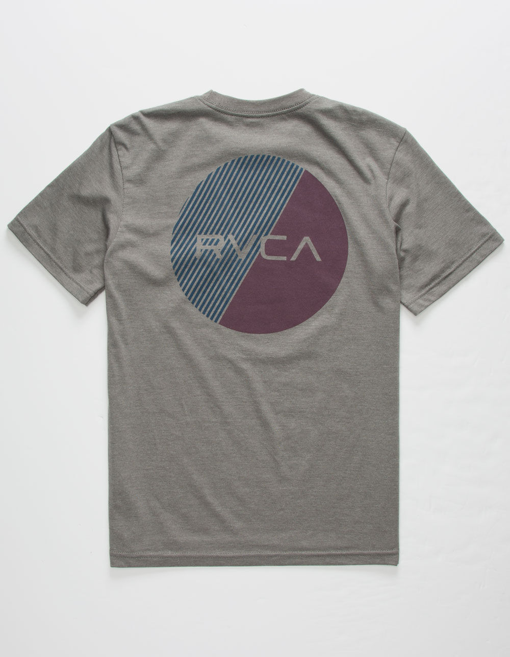 RVCA Blind Motors Gray Boys T-Shirt