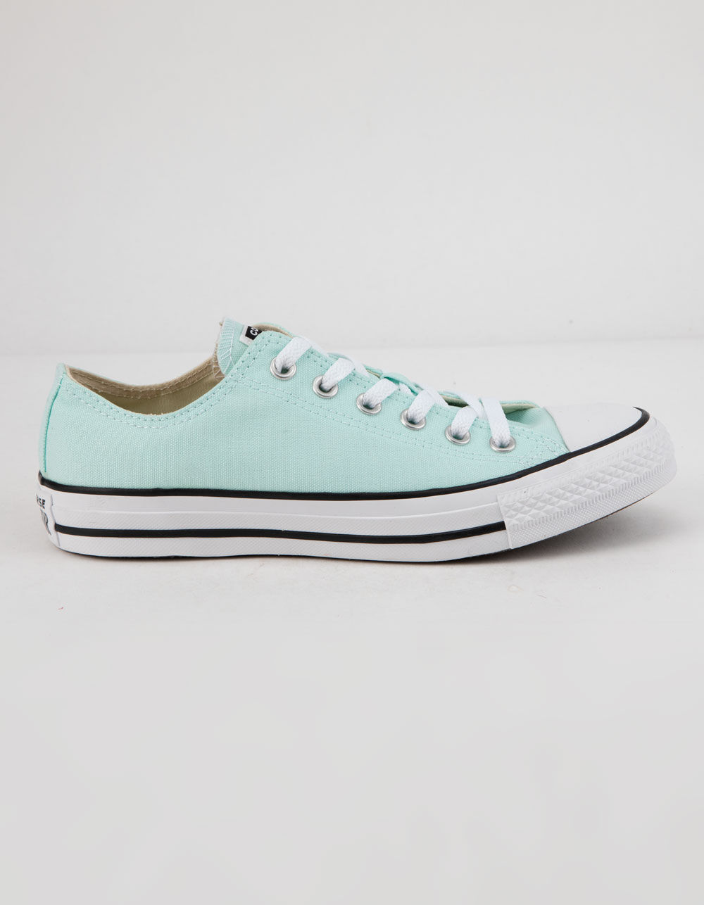 Image of CONVERSE CHUCK TAYLOR ALL STAR SEASONAL COLOR TEAL TINT LOW TOP SHOES