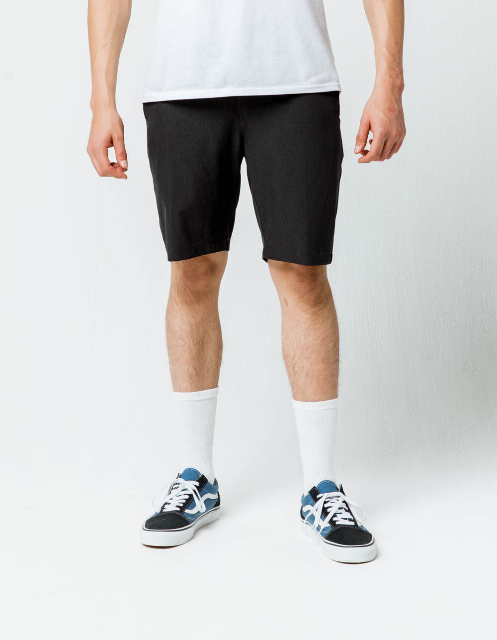NITROUS BLACK Format Black Hybrid Shorts